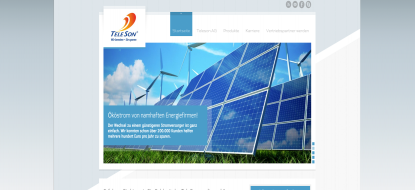 Website for Teleson AG