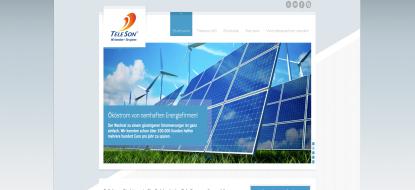 Vertriebswebseite der Teleson AG